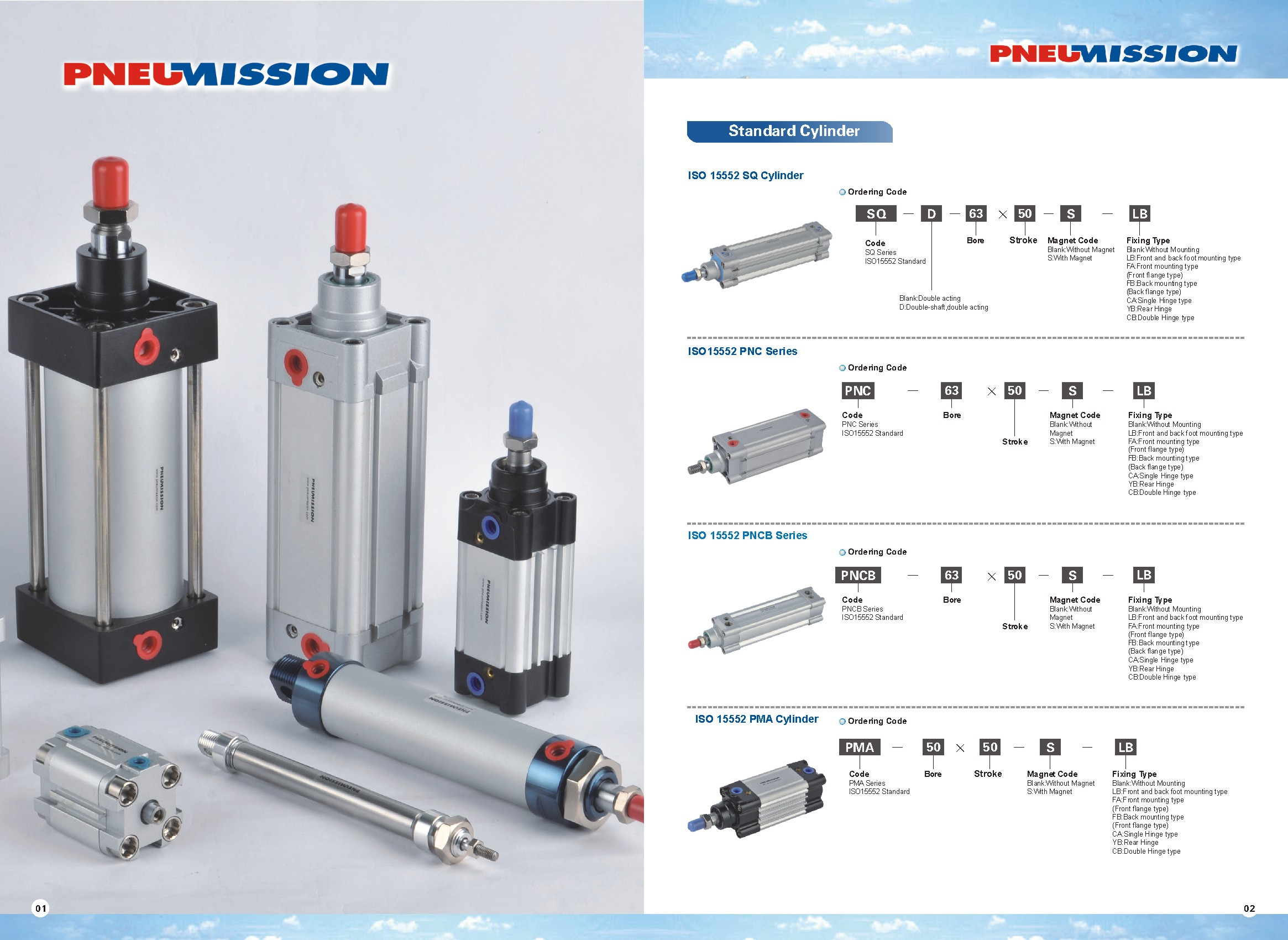 Pneumatic Cylinders Page 1